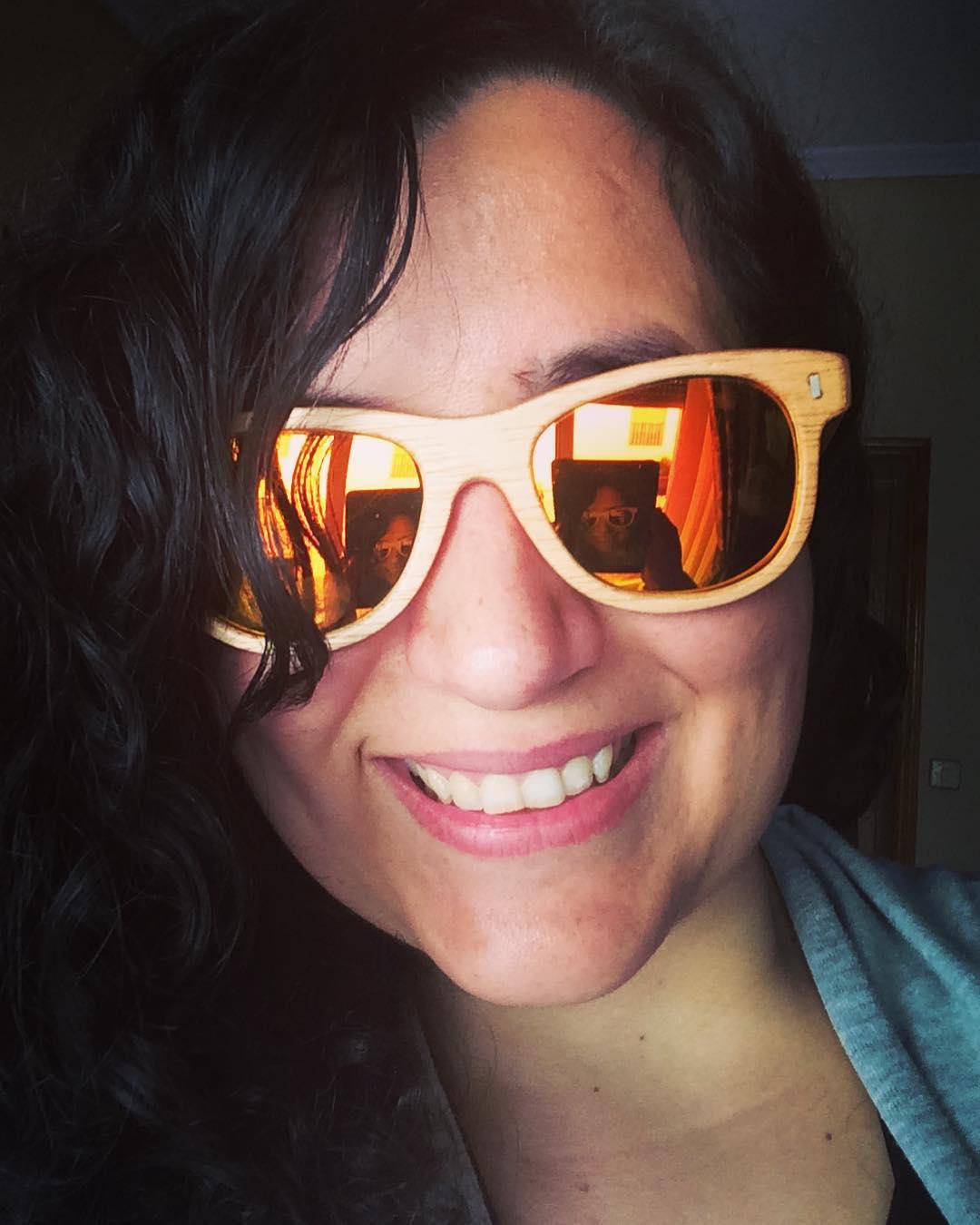 Yo yo misma e Irene Gafas de Madera Sostenible sunglasseshellip